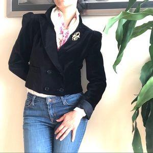 80-90s Vintage Velvet blazer